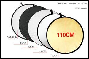 110cm 5-in-1 Circular Reflector