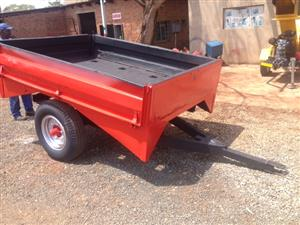 U Make Single Axle 2 Ton  Pre-Owned Trailer