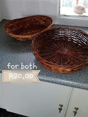 Brown fruit baskets for sale