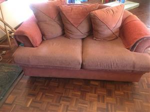 Orange lounge suite for sale
