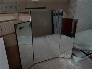 3 piece Dressing table mirror. Stand alone
