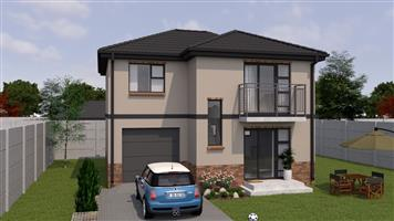 newly built double storey house in  a secure lifestyle estate