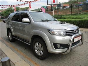 2012 Toyota Fortuner 3.0D 4D 4x4 Heritage Edition