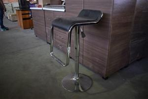 Black top steel bar chair for sale