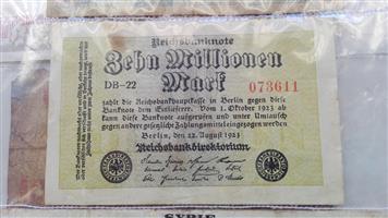 Reichsbanknote, Berlin 1923
