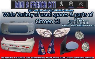 Citroen C1 used Body parts on Big sale !! Now !!