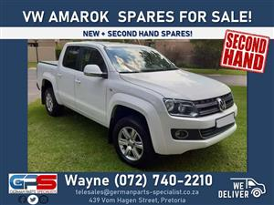 Volkswagen Amarok Spares FOR SALE! ( new + used spares )
