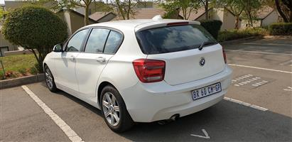 2012 BMW 1 Series 116i 5 door Exclusive