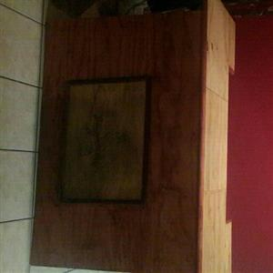 Bar counter with mirror for sale