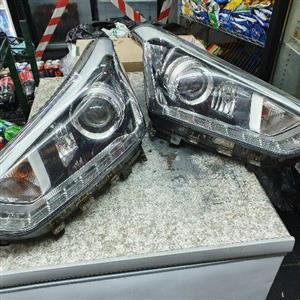Hyundai creta complete both headlight LED