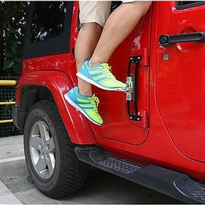 Jeep Wrangler pedal side step bars