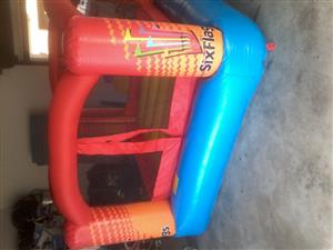jumping castle bouncer with blower very good condition