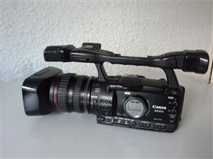 Canon XH A1S HD Video Camera recorder.