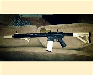 Urgent Sale price is neg.Airsoft Rifle and gear.