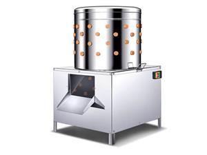 FEATHER PLUCKER - CHICKEN PLUCKER - DE FEATHERING MACHINE - PROCESSING UNIT , BUTCHERY MACHINE