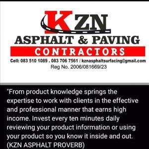 KZN ASPHALT& PAVING CONTRACTORS