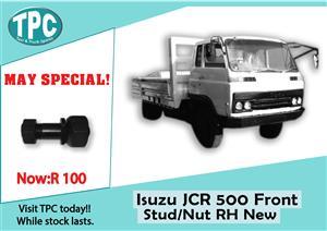 Isuzu JCR 500 Front Stud/Nut RH New for Sale at TPC
