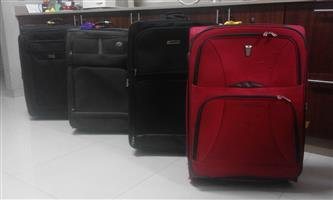 4 x 70cm luggage travel bags