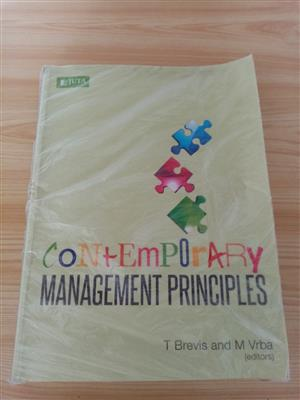CONTEMPORARY MANAGEMENT PROINCIPLES