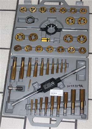 Mac afric 45 piece tap and die set S043759A #Rosettenvillepawnshop