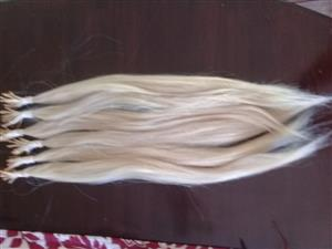 Hair extensions for sale. 100% human hair