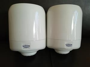 TWINSAVER Centrefeed Paper Dispenser - Maxi - White - Plastic