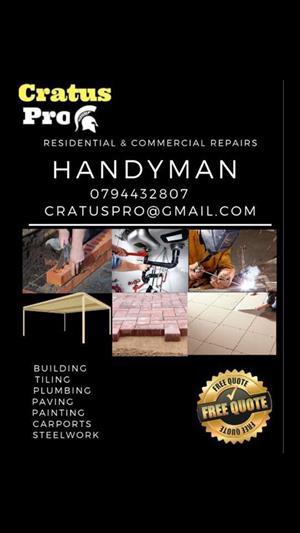 CRATUS PRO Residental & Commercial Repairs Handyman