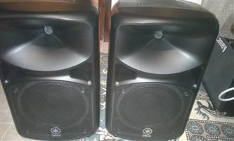 Yamaha Passive PA Speakers (Pair)