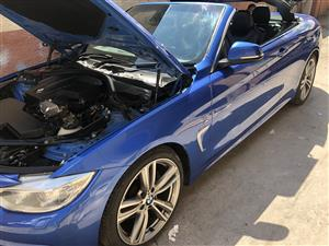 2015 BMW 4 Series 428i convertible M Sport