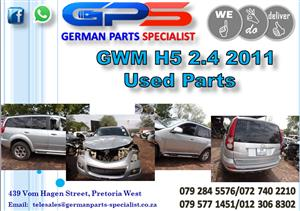 Used GWM H5 2.4 2011 Parts for Sale