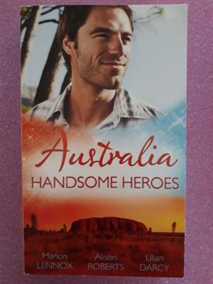Australia Handsome Heroes - Mills & Boon.
