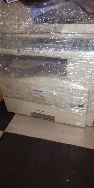 Gestetner Aficio mp161 black and white copier with document feeder for sale