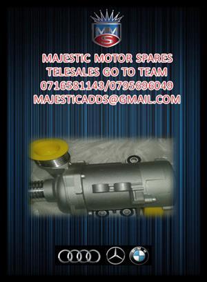 M/BENZ NEW E87 E90 WATER PUMPS FOR SALE.,.