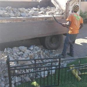 Rubble removal east Rand area 4ton truck