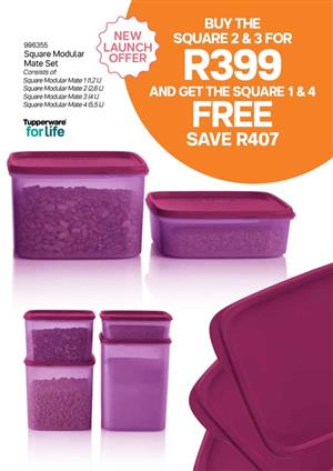 August Tupperware Special!!