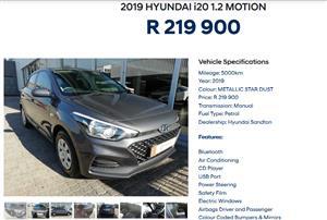 2019 Hyundai i20 1.4 GL