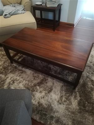 Beautiful wooden classic coffee table for sale