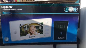 "Digitech 7"" colour doorphone."