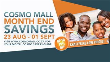 Cosmo Mall Month End Sale