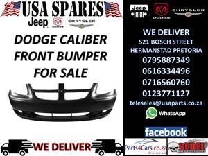 DODGE CALIBER FRONT BUMPER FOR SALE