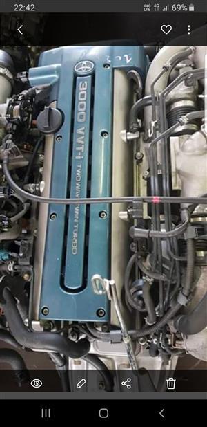Toyota 2JZ VVTI WITH AUTO GEARBOX