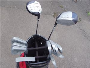 Golf Club Set Complete with Golf Bag