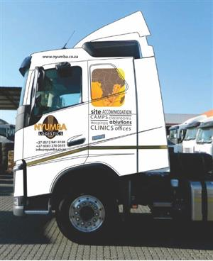 FOR ALL YOUR TRANSPORTING NEEDS CONTACT NYUMBA