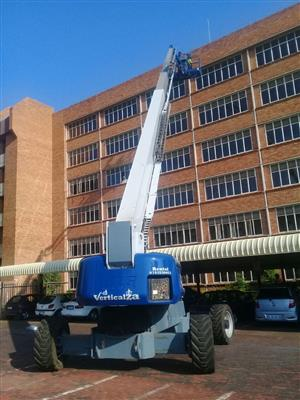 VerticalZA Cherry Picker JLG1200SJP – 38.73m Boom Lift, TELESCOPIC Manlift