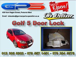 VW Golf 5 Door Lock Used Part for Sale