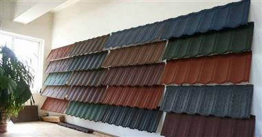 We have all category of roofing tiles, IBR sheets,  Ridges, and the tiling machine