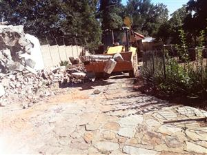 Demolition & Site Clearance ni johannesburg 0638246467,