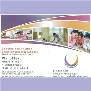 Looking for trained nannies?