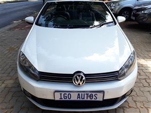 2013 VW Golf cabriolet 1.4TSI Comfortline auto