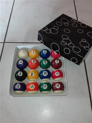 Pool Table Accessories for Sale – R1000